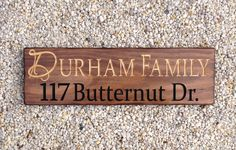 Custom Wood Signs, Wooden Signs, Address Sign, Last Name Wood Signs, Wood Signs, Home Sign, Last Name Sign, Custom Name Sign, Farmhouse Sign by SimplySaidSayings on Etsy