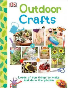 Outdoor Crafts and thousands more of the very best toys at Fat Brain Toys. Kids won't be sitting around inside being bored this summer - at least not when you pull out this fantastic book of Outdoor Crafts.