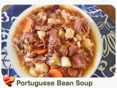 Portuguese Bean Soup - ILoveHawaiianFoodRecipes
