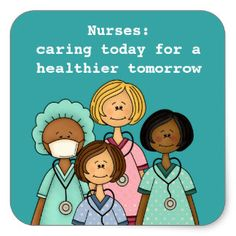 Nurses Day, Nurses Week Gift Stickers