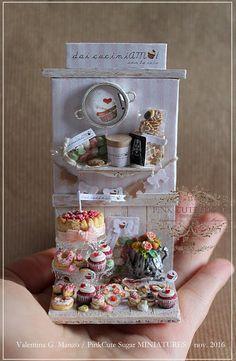 2016, Miniature food ♡ ♡ By Valentina Manzo