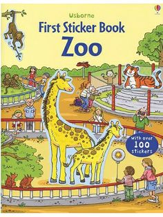 Zoo Usborne First Sticker Book. #ilovetoread #books #educational #toys