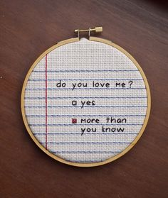 Adorable cross stitch