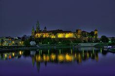 Wawel Castle and Wisla river. Krakow Poland, View Image, River, Castles, Places, Chateaus, Rivers, Castle, Palaces