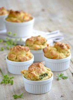 Muffins aux poireaux et parmesan
