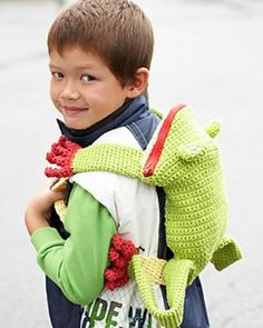 Love these #Crochet Backpacks - free patterns! From Mooglyblog.com