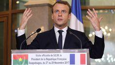"""Macron, au Burkina Faso: """"Il n'y a plus de politique africaine de la France"""""""