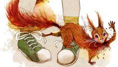 """Herr Pinselflitzer aus dem Kinderbuch """"Willkommen in Leipzig, Paul!"""" Rooster, Animals, Children's Books, Leipzig, Animaux, Animal, Animales, Animais, Chicken"""