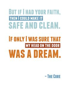 the cure, close to me, song lyrics, robert smith