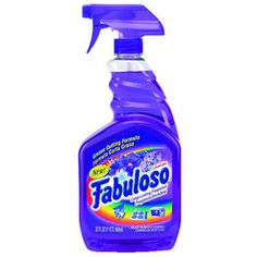 Fabuloso Multi-Use Cleaner, Lavender Scent, 32 Oz, Spray Bottle, 9 / Carton Bottle Cleaner, Stink Bugs, Cleaning Walls, Cleaning Tips, Cleaning Products, All Purpose Cleaners, Lavender Scent, Gras, Cleaning