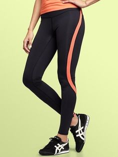 gap workout pants, and they keep you warm!