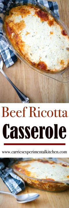 Lean ground beef combined with mushrooms, onion and garlic in a balsamic tomato sauce; then topped with a mixture of Ricotta, Mozzarella and Parmesan cheeses and baked until golden brown. Who doesn't love a quick and easy casserole during busy weeknights?