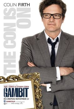 Gambit with Colin Firth, Cameron Diaz and Alan Rickman. A Joel and Ethan Coen film. Colin Firth, Top Movies, Great Movies, Movies To Watch, Cameron Diaz, Internet Movies, Movies Online, Love Movie, Movie Tv