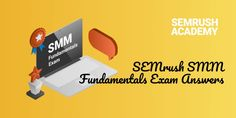 SEMrush SMM Fundamentals Exam Answers Exam Answer, Relationship Marketing, Media Campaign, Social Media Channels, Business Goals, You Youtube, Social Platform, Social Media Marketing, Knowledge