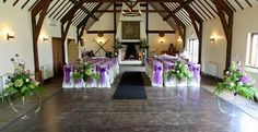 Flower Design Events: The Great Hall at Mains