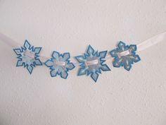 Banners de los copos de nieve 4 tipos en el aro la por artapli