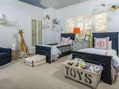 Adorable room for twin boys