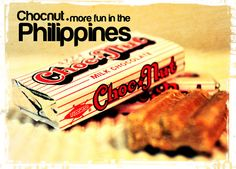 Yummy chocnut and hany! Yes Philippines! Halo Halo, Nut Recipes, Filipino Recipes, Filipino Food, I Want To Eat, How To Make Chocolate, Pinoy, Street Food, More Fun