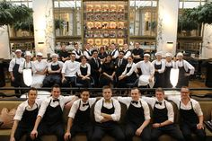 Our great The Bank Brasserie & Bar team. Characters, Bar, People, Figurines, People Illustration, Folk