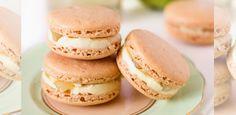 Pear and Elderflower Macarons Recipe