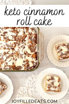Low Carb Deserts, Low Carb Sweets, Food Deserts, Low Carb Keto, Low Carb Recipes, Healthy Recipes, Healthy Cinnamon Rolls, Gluten Free Cinnamon Rolls, Real Food Recipes