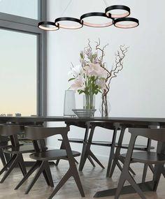 minimal  led  light ! www.zambelislights.gr Minimalism, Led, Lights, Table, Furniture, Home Decor, Light Fixtures, Decoration Home, Room Decor