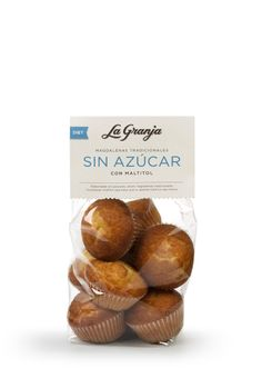 Magdalenas tradicionales sin azúcar y con maltitol.  #cupcakes #food #instafood #breakfast #healthy #delicious #gourmet #foodie #diet #maltitol