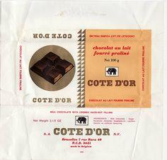 Cote D'or: chocolat au lait fourré praliné