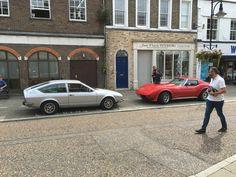 '78 Alfetta GTV and a C3 Corvette