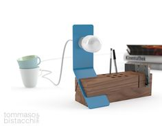 Edi desk organizer by Tommaso Bistacchi - Photo 1 | Image courtesy of Tommaso Bistacchi