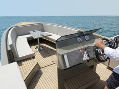 De Antonio Yacht D23 Tender - Design by Ubica-id
