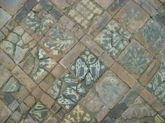 """Floors, Straw and the term """"Threshold"""": Medieval floor tiles from Cleeve Abbey Medieval Houses, Medieval Life, Interior Design History, Alcohol Ink Art, Stone Flooring, Wood Blocks, Middle Ages, Wood And Metal, Mosaic Tiles"""