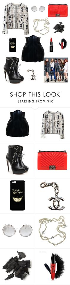"""""""What about Now..."""" by nancybcrtn ❤ liked on Polyvore featuring Chanel, Alexander McQueen and Smashbox"""