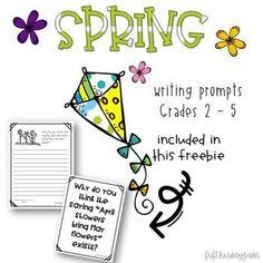 Spring Writing Promp