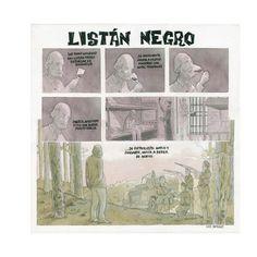 Iván Retamas Listán Negro Lápiz, tinta china y vino tinto de Listán Negro 50 x 50 cm.