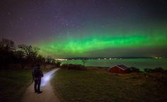 Aurora in Trondheim, Norway by Aziz Nasuti on 500px
