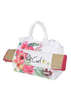 f75408a0947 Rip Curl Brighter Days Beach Bag - Tasche für Damen - Weiß