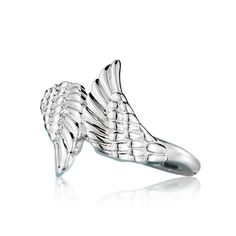 """A gift that gives courage. Sterling Silver Ring is available in sizes 5-10.STERLING SILVERis the standard for fine silver jewelry in the world over. Only Sterling Silver can be stamped with a """"fineness mark"""" of .925 indicating its high quality."""