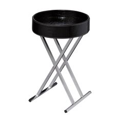 Modern Design With Flexibility. https://joyfulhomegoods.com/collections/tables/products/sterling-industries-felton-tray-table-black-6043649?variant=20312480775 Free gift for our Pinterest fans! $5 gift card, use code PIN5 to redeem!