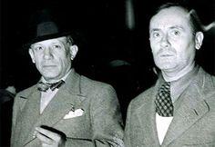 Picasso y Miró en el pabellón español de la Feria Internacional de París (1917)