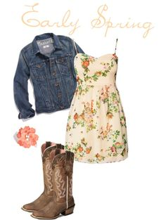 """""""Early Spring"""" by cj98girl on Polyvore"""