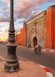 Marrakech, Morocco http://www.whenevermarrakech.com/what-to-do/ http://www.marrakechrougehostels.com/welcome/ http://www.thistimeinmarrakech.com/what-to-visit/