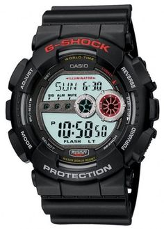 G-Shock Watch Alarm Chronograph #amazon #bezel-fixed #black-friday-special #bracelet-strap-rubber #brand-g-shock #case-depth-17mm #case-material-synthetic #case-width-51mm #chronograph-yes #clasp-type-tang-buckle #classic #comparison #date-yes #day-yes #delivery-timescale-call-us #dial-colour-lcd #gender-mens #keep-reduced #movement-quartz-battery #official-stockist-for-casio-g-shock-watches #packaging-casio-g-shock-watch-packaging #style-sports #subcat-g-shock…