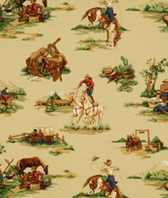 Robert Allen @ Home Old West Desert Fabric