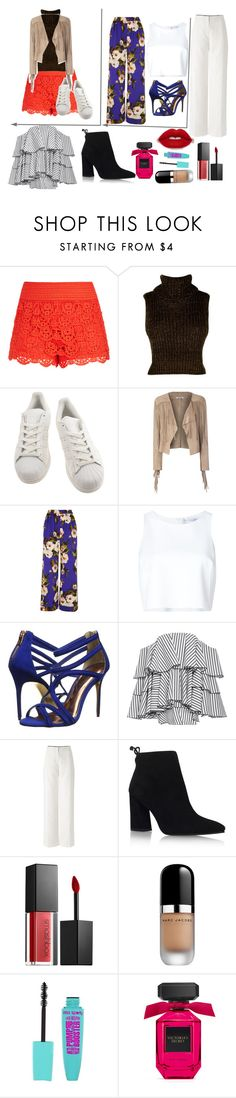 """Day's at work"" by queenalisa on Polyvore featuring City Chic, adidas, Glamorous, Dolce&Gabbana, Carolina Herrera, Ted Baker, Caroline Constas, Stuart Weitzman, Smashbox and Marc Jacobs"