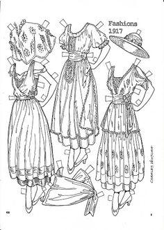 Pattern Book Fashions 1917 Paper Dolls by Charles Ventura - Maria Varga - Picasa Web Albums