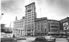 Buildings at Portage and Main, 1974