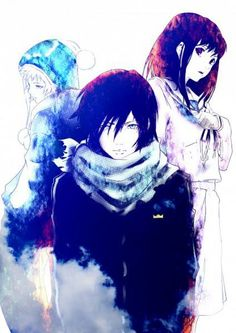 Yato, Yukine & Hiyori   Noragami