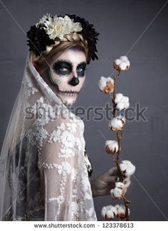 day of the dead make up - Google Search