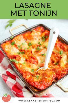Fish Recipes, My Recipes, Italian Recipes, Favorite Recipes, Vegetarian Recipes, Healthy Recipes, 20 Min, Lasagna, Macaroni And Cheese
